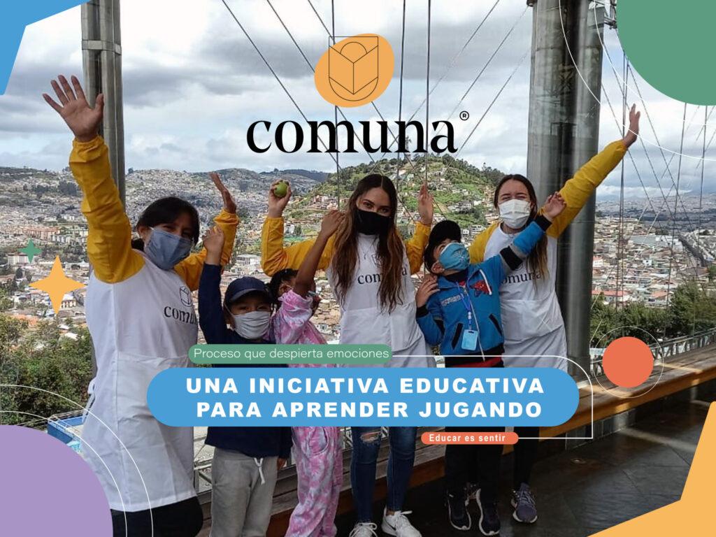 Comuna, una iniciativa educativa para aprender jugando